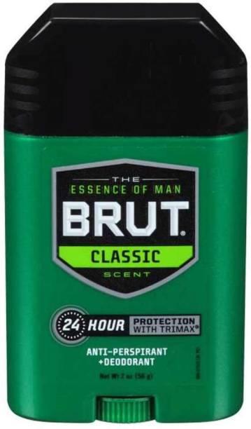 BRUT Classic Scent Deodorant Stick  -  For Men