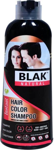 BLACK NATURAL Instant Hair Color Shampoo , Black