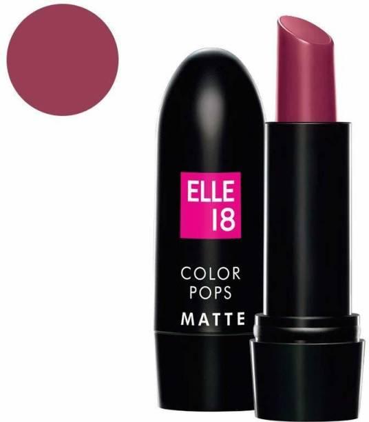 ELLE 18 Color Pops Matte Lip Color-CHERRY WINE-W11