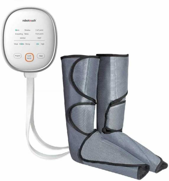 RoboTouch Air Leg Heat Air Compression Massage for Foot & Calf Helpful for Circulation and Muscles Relaxation Massager