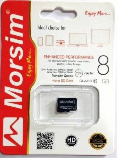 NewSelect New 8 GB SD Card Class 6 48 MB/s  Memory Card