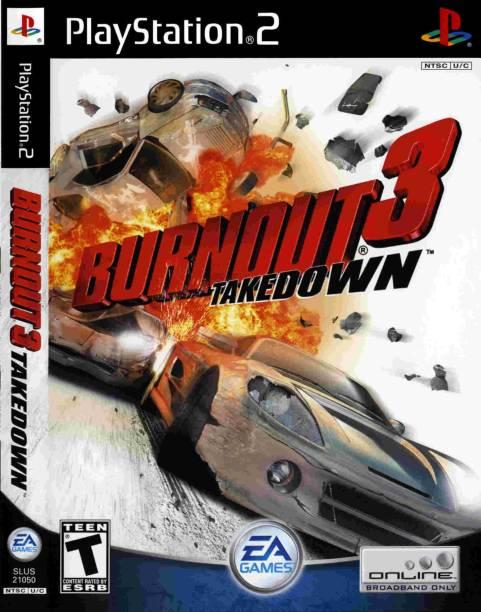 BURNOUYT 3 TAKEDOWN FULL GAME PLAYSTATION 2 (PS2 ) (STANDARD)