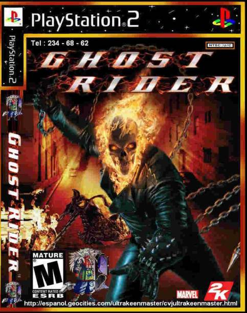 GOST RIDER FULL GAME PLAYSTATION 2 (PS2 ) (STANDARD)