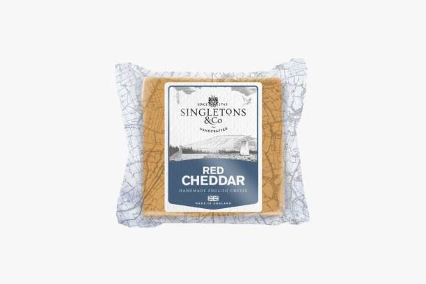 Singletons & Co Red Cheddar Cheese Pack of 1 200 g
