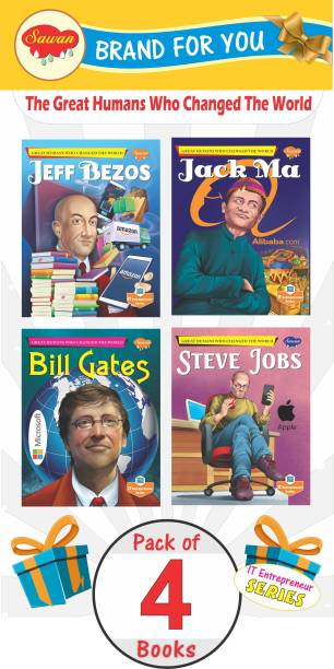 The Great Humans   World's Greatest Books For Adults : Perfect Motivational Book   Bill Gates, Jack Ma, Jan Koum And Jeff Bezos