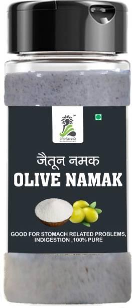 Herbaveda Jaitun ka namak (100g) , Namak zaitoon | Helps in digestion | Treats stomach related problems Special Purity Salt