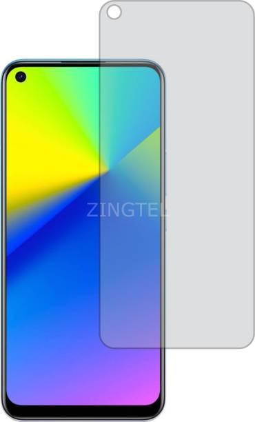 ZINGTEL Tempered Glass Guard for Realme 7i (Matte Finish, Flexible)