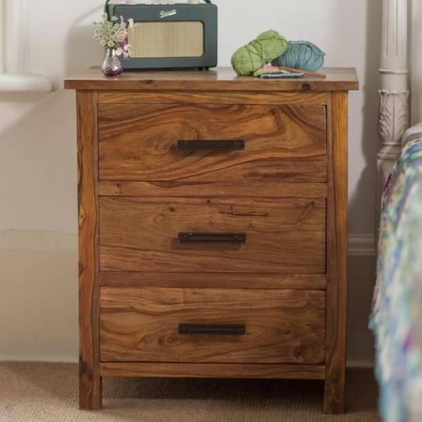 DriftingWood Solid Wood Bedside Table