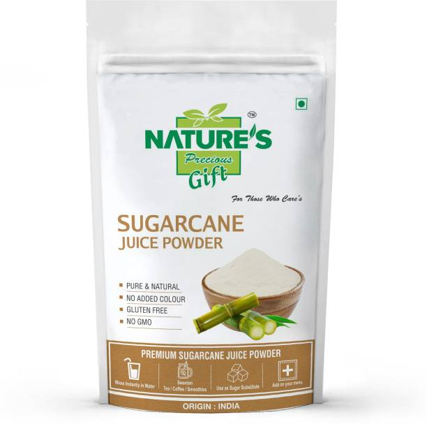 Nature's Precious Gift Sugarcane Juice Powder - 200 GM Sugar