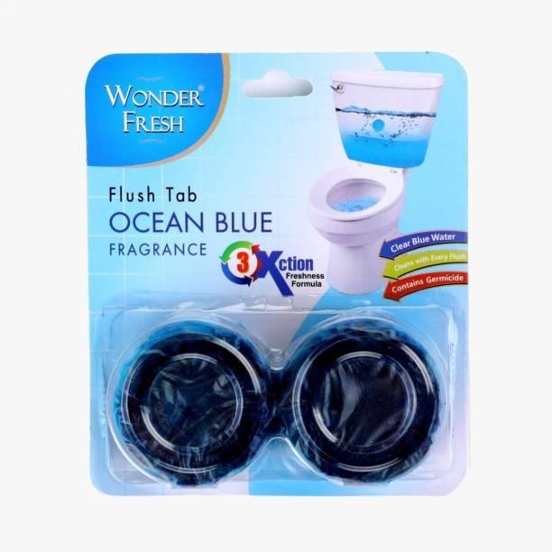 DeoDap Toilet Cleaner Flush Tab (Ocean Blue) - 100 Gram Ocean Block Toilet Cleaner
