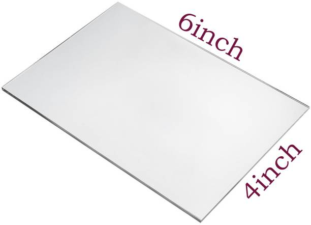 laxmi acrylic Universal Imported Acrylic Sheet Plexiglass (Transparent, 6 X 4 Inch, 1 mm Thickness) 6 inch Acrylic Sheet