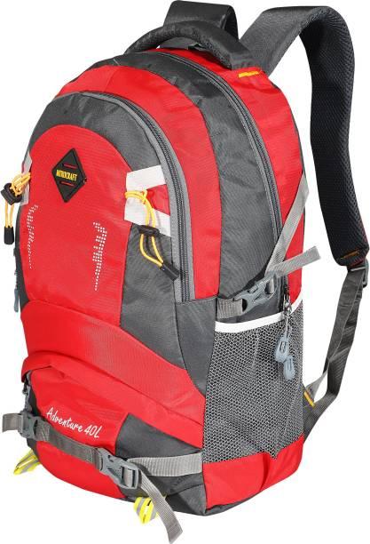 MTROCRAFT Walker Backapck Red 40 L Laptop Backpack