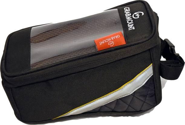 GRABMOUNT Waterproof Touch Screen Bicycle Package Bag Multipurpose Storage Carrier Bicycle Phone Holder