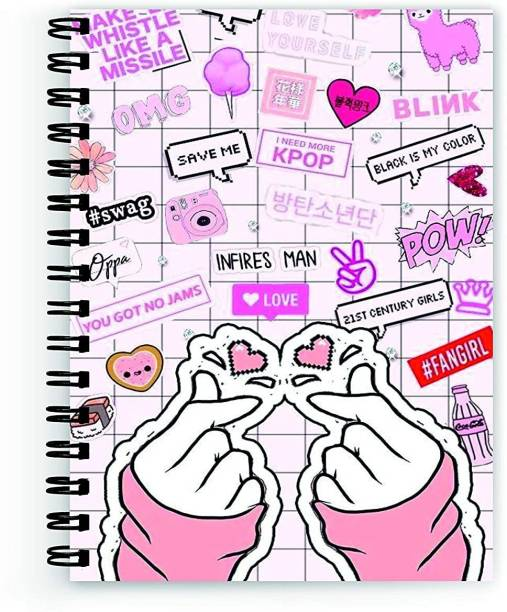 Macro GIRL POWER COLLECTION A5 Notebook RULED 160 Pages