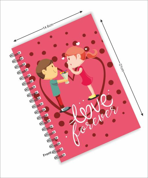 Macro LOVE FOREVER COLLECTION A5 Notebook RULED 160 Pages