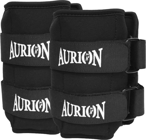 Aurion Neoprene 3 KG X 2 Wrist/Ankle Weights for Walking Black Ankle & Wrist Weight