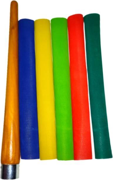 Kalindri Sports Multicolor Diamond Texture Grips with Cone Chevron
