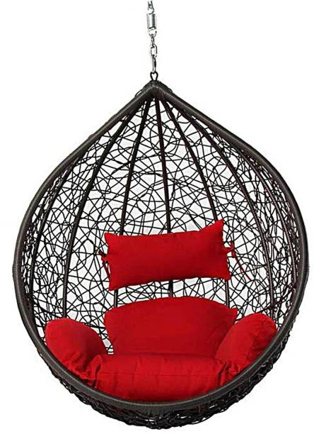 Flipkart Perfect Homes Studio Sealing Swing Chair Without Stand Iron Large Swing