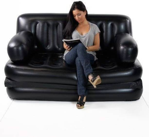 BESTWAY Leatherette 2 Seater Inflatable Sofa