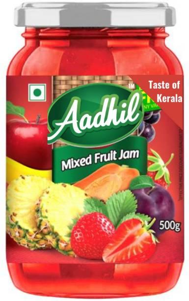 Aadhil Grandma's Premium Mixed Fruit Jam 500 g