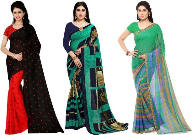 Anand Printed Daily Wear Georgette Saree