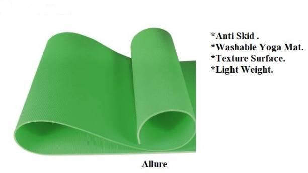ALLURE Yoga & Exercise Green Mat 4 MM Green 4 mm Yoga Mat
