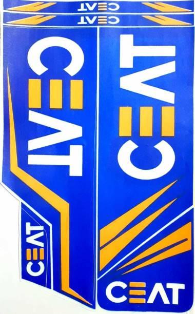 CEAT HITMAN CEAT CRICKET BAT STICKER Bat Sticker