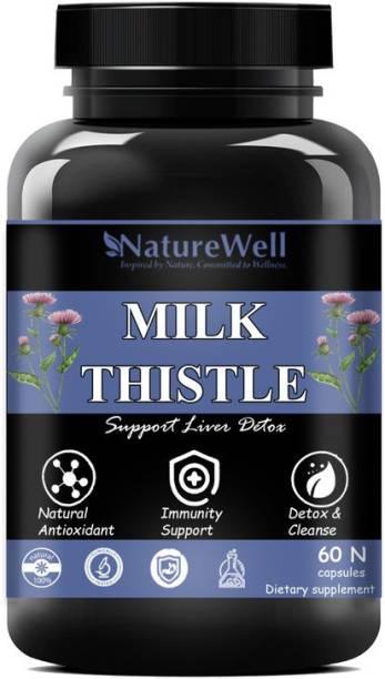 Naturewell Milk Thistle Liver Support Formula (60 Capsules)(60N)Premium