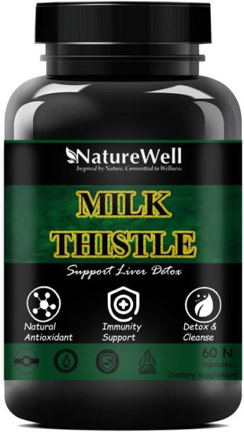Naturewell Milk Thistle with 800 mg of Silymarin for healthy Liver (60N)