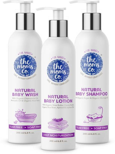 The Moms Co. Natural Bath Essentials For Baby