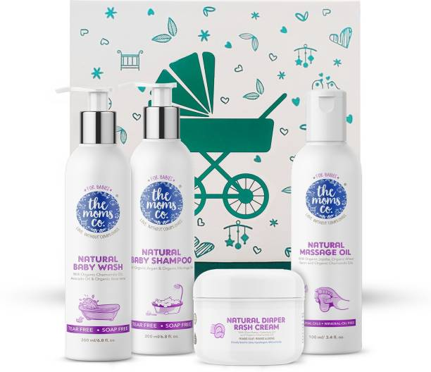 The Moms Co. Baby Essentials Ribbon Gift Box