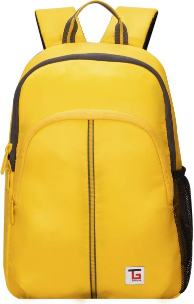 Tuff Gear Tenor Casual Daypack 37.5cm Mini Backpack 13-liter Day-to-Day Yellow Resistance Backpack Bag 13 L Backpack