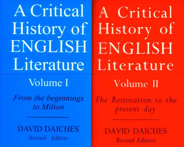 A Critical History of English Literature: Vol 1 & 2