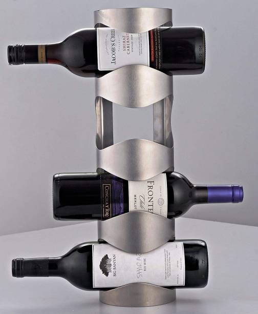 Hogar Stainless Steel Wine Rack