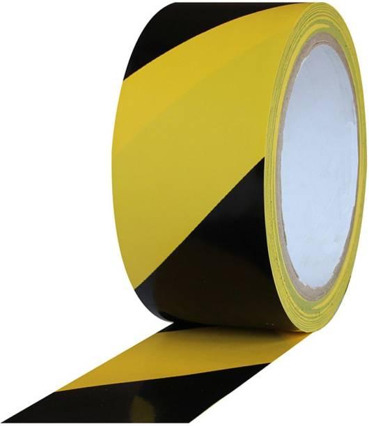 HaappyBox High Grade 140 Microns Zebra Floor Marking Tape (Manual)