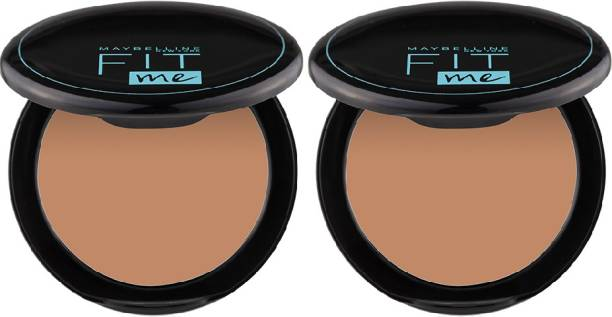 MAYBELLINE NEW YORK Fit Me Compact Powder - 310, 8 g (Pack of 2) Compact
