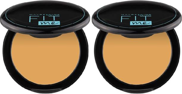 MAYBELLINE NEW YORK Fit Me Compact Powder - 230, 8 g (Pack of 2) Compact