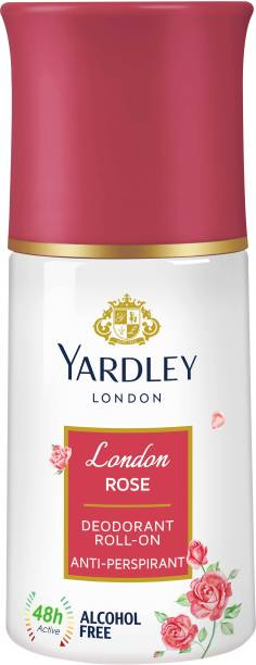 Yardley London Rose Deodorant Roll-on  -  For Women