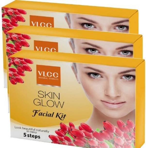 VLCC Skin Glow Facial Kit Pack of 3