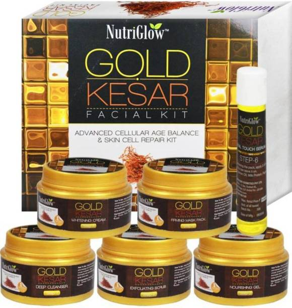 NutriGlow Gold Kesar Facial Kit 250 g