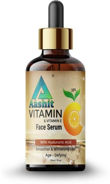 Aashit Vitamin C E Fairness, Whitening & Brightening Skin