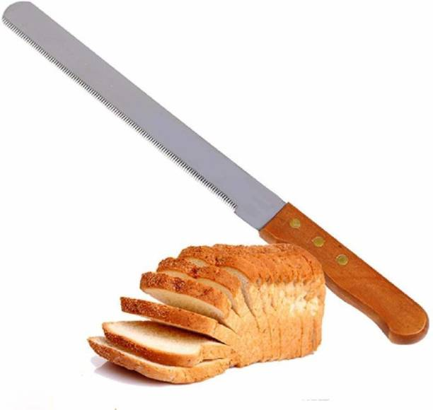 H&M Store stainless steel bread knife 12 inch Stainless Steel Knife Set (Pack of 1) Steel Knife