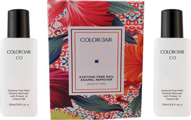 Colorbar Cosmetics Nail Paint Remover Pack of 2