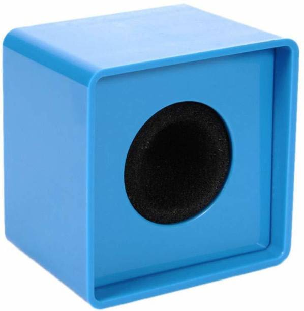 Black Dragon Portable Blue ABS Injection Molding Square Cube Shaped Interview Microphone Logo Flag Station Microphone Flag