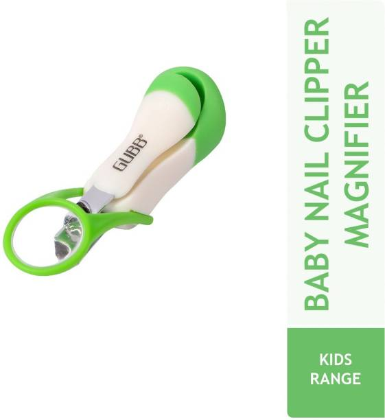 GUBB Nail Cutter For New Born Baby Nail Cutter / Clipper With Magnifier