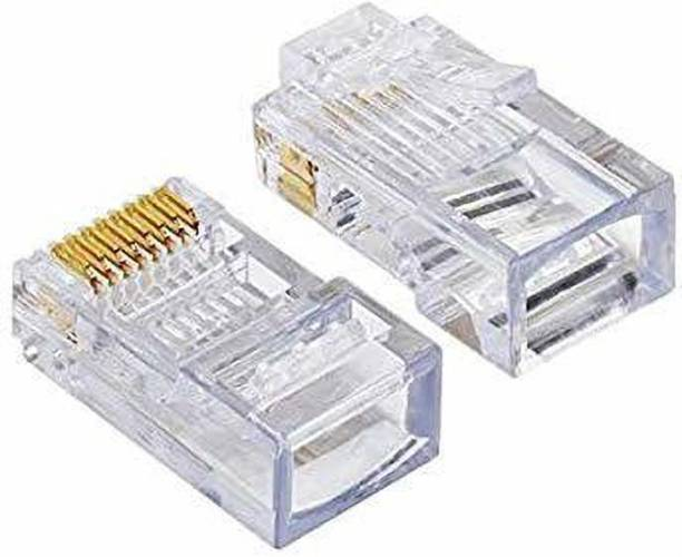 D-Link RJ45 Connector Module Plugs - Pack of 100 Nos Network Interface Card
