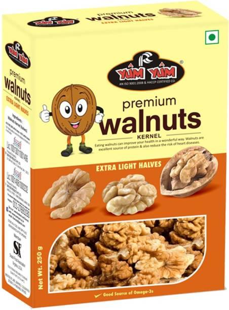 YUM YUM California Walnut Kernels (Akhrot Giri) Walnuts