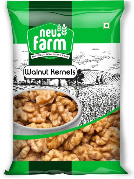 Neu.Farm Deluxe California Walnut Kernels - Premium Akhrot - Pack of 2 Akhrot Giri Walnuts