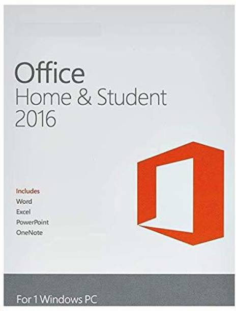 MICROSOFT Office 2016 Home & Student Digital Key-One time purchase for one PC(Windows)