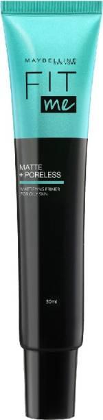 MAYBELLINE NEW YORK Fit me Face Primer Matte + Poreless, 30 ml Primer  - 30 ml
